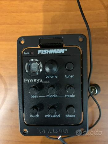 Fishman Presys Blend per chitarra acustica