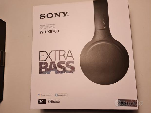 Sony WH-XB700 extra bass cuffie wireless