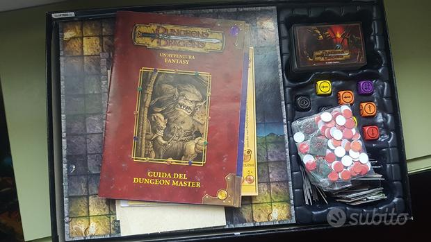Dungeons and Dragons gioco da tavolo
