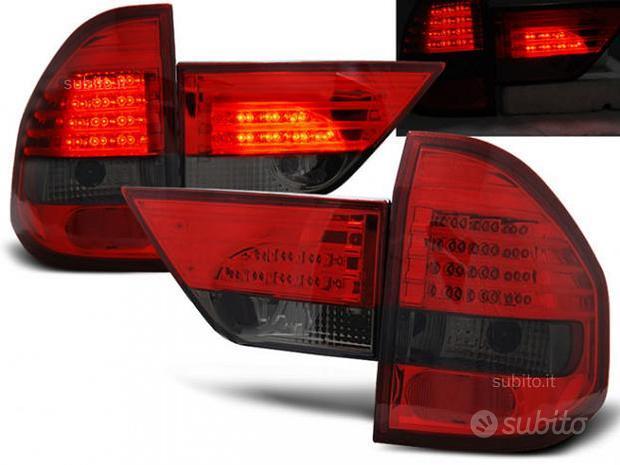 Fari posteriori led bmw x3 e83 rosso smoke