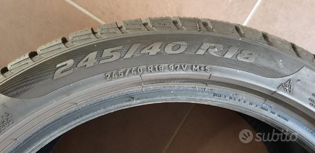 Pirelli neve 245 40 r18