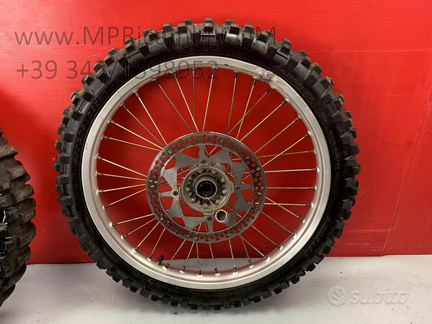 CERCHIO ANTERIORE x TM MX 125 1997 1998 racing