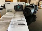 Attrezzatura fotografica Canon Eos 80D