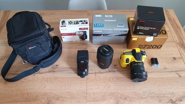 Reflex DSRL Nikon D7200