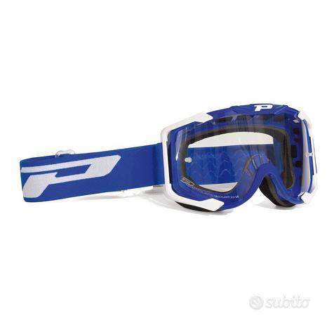 Occhiali pro-grip motocross enduro menace blue