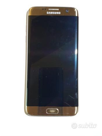 Telefono cellulare Samsung S7 edge oro 32gb usato