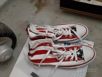 Scarpe Converse uomo originali bandiera Americana - Abbigliamento ...