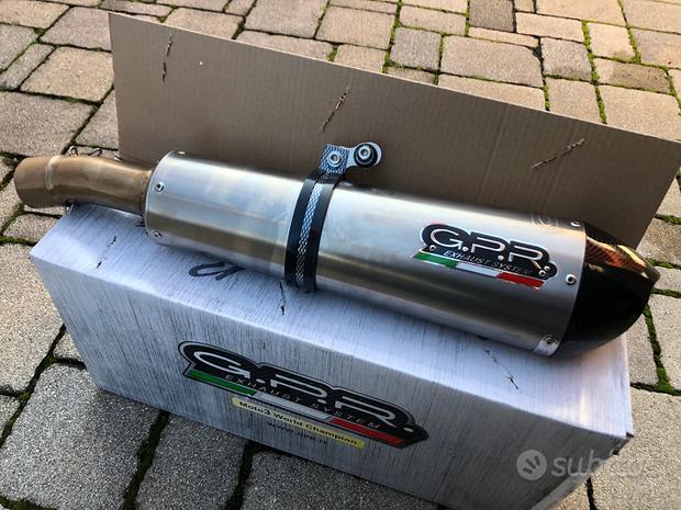 Scarico GPR Evo4 Anniversario BMW F800GT 12-17