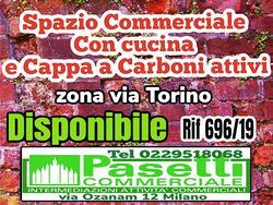 SPAZIO arredato in via Torino