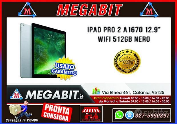 IPAD PRO 2 12.9 A1670 512GB WIFI Space Grey