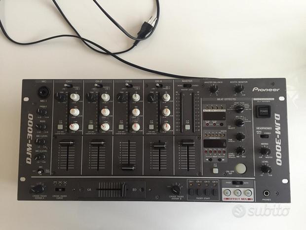 Mixer Pioneer DJ M 3000