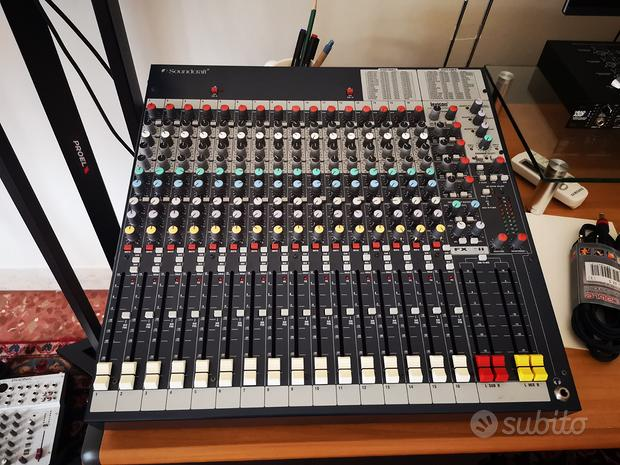 Mixer soundcraft fx16ii