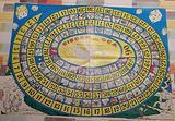 Cartoncino del Gioco dell'oca tradizionale anni '8