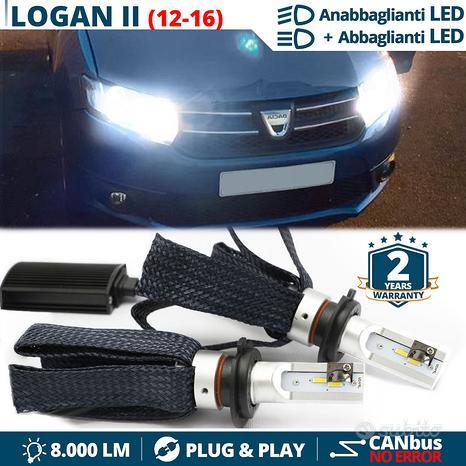 Kit Luci LED H4 per Dacia LOGAN II CANbus 6500K