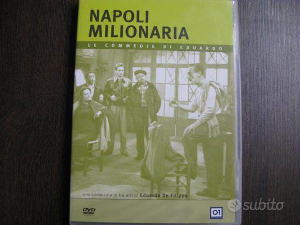 Eduardo de filippo napoli milionaria dvd