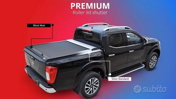 Tesser 4x4 copricassone avvolgibile per pickup