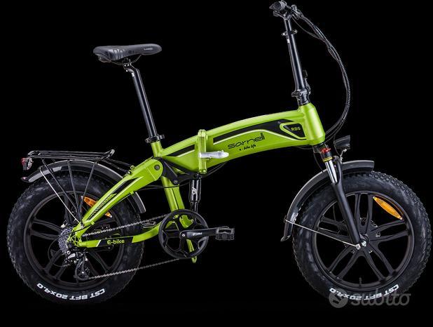 Bicicletta Sarnelli fat bike Assistita Elettr Rd5