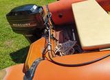 Gommone eurovinil e4, carrello e motore