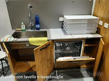 Ripiano Cucina Con Lavello E Lavastoviglie Arredamento E Casalinghi In Vendita A Verona