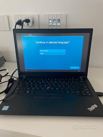 Portatile Lenovo ThinkPad T480s Touchscreen