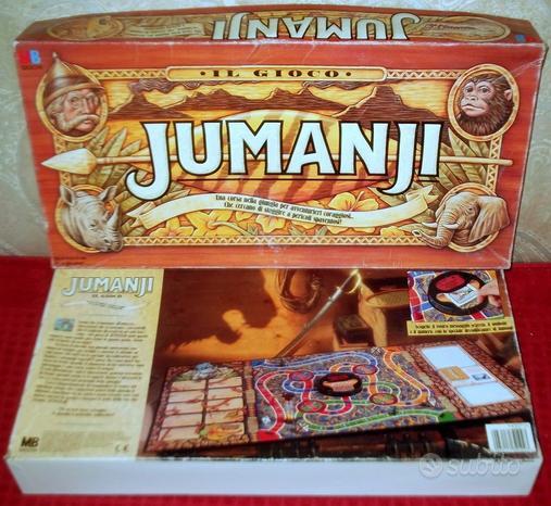 Jumanji gioco prima edizione molto raro in italian