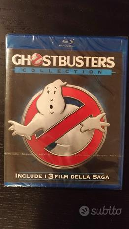 Ghostbusters collection blu ray 3 film (nuovo)
