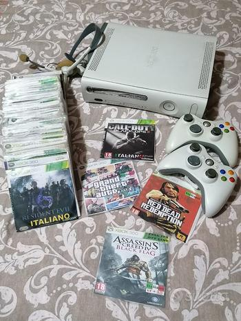 Xbox 360 CON 2 JOYSTICK + 95 GIOCHI