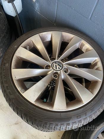 Cerchi VW Scirocco + gomme
