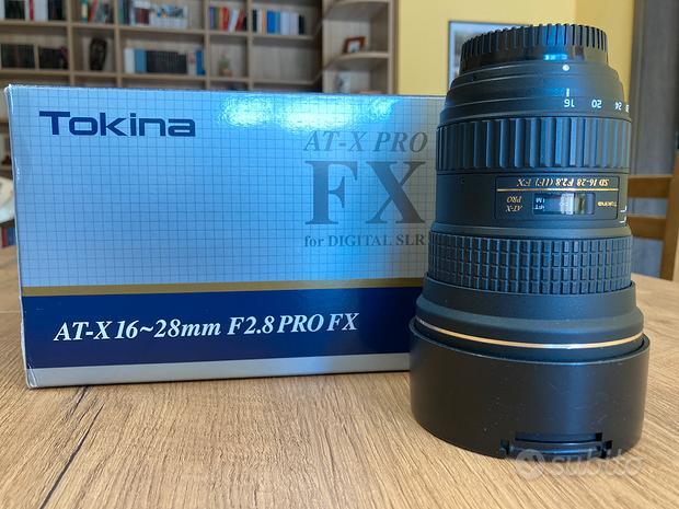 Obbiettivo Tokina AT 16-28 f2,8 per Nikon