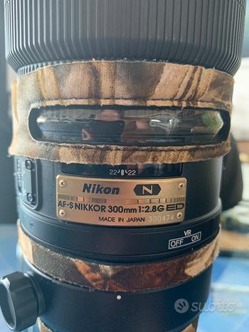 Nikon 300mm f2.8 condizioni perfette TC 1.7