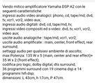 Amplificatore Yamaha DSP A2
