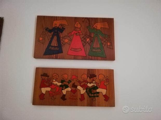 Quadretti in legno