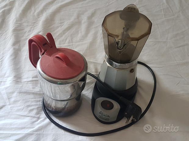 Moka caffettiera elettrica e moka da 10 tazze