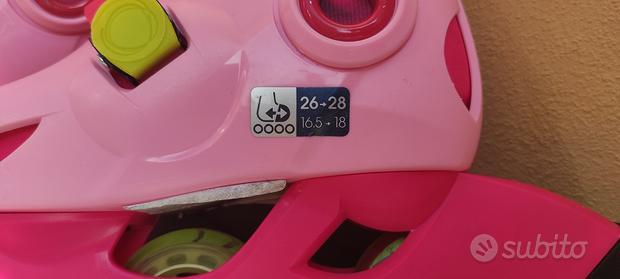 Pattini Rollerblade tg 26 28 Oxelo di Decathlon