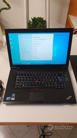 Lenovo Thinkpad L512 CORE i5 460m Windows 10