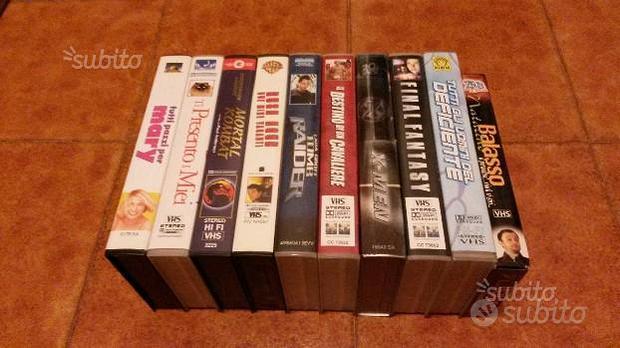 Lotto Film vari - VHS
