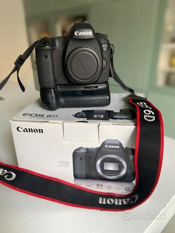 Canon 6D + battery grip