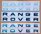 Scritte RANGE ROVER Evoque, Sport, Vogue