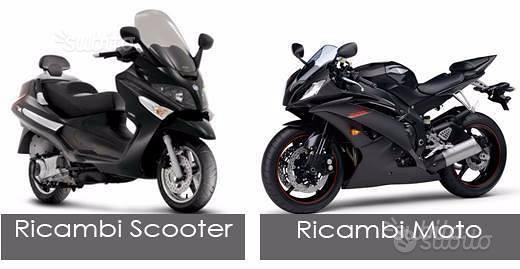 Moto scooter non funzionanti o incidentati