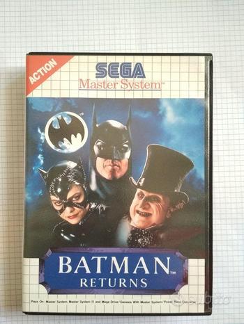 Gioco Batman Returns per Sega Master System