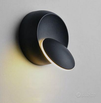 Lampadario a LED girevole a 360 gradi muro