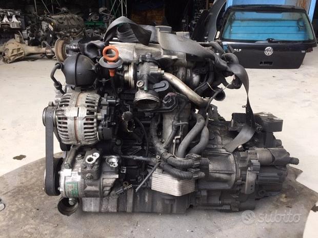Motore cambio 6 marce Audi A3 2005 2000cc TD BKD