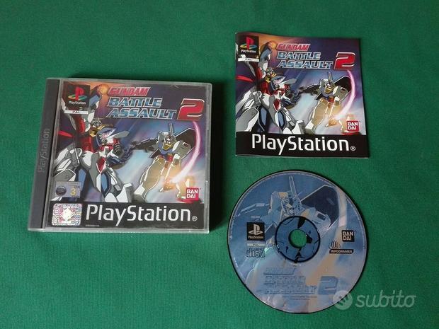 Gundam battle assault 2 playstation 1 2 3 ps1 ps2