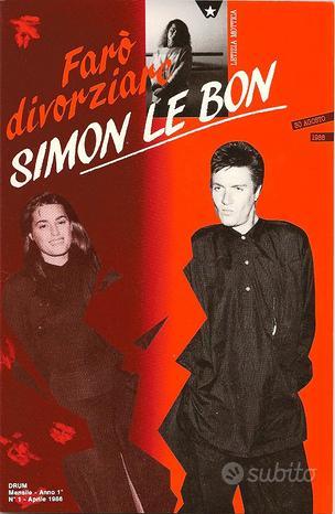 Sposero' Simon Le Bon (1986) e varie