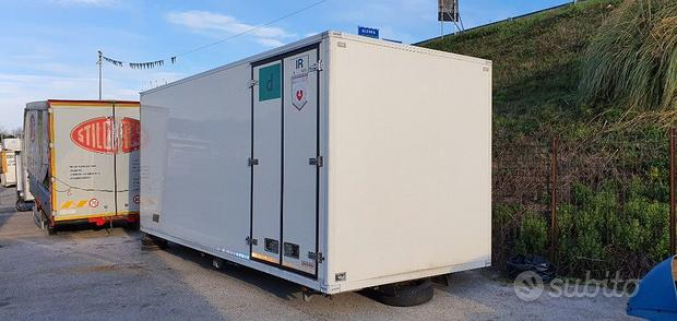 Iveco furgone isotermico mt 6 x eurocargo