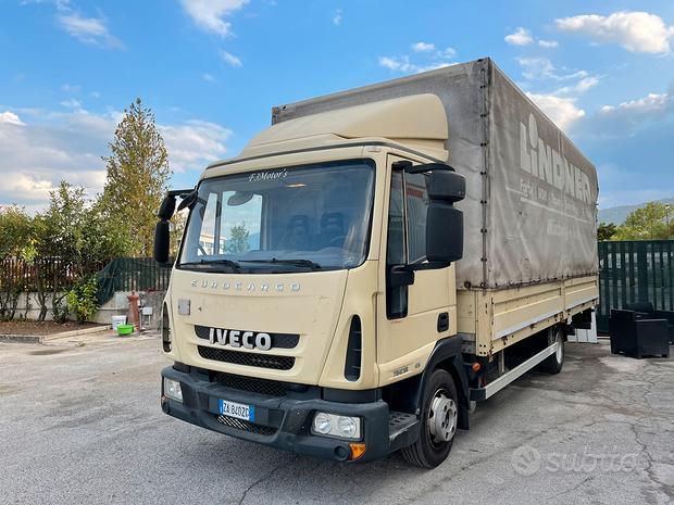 Iveco Eurocargo 75E180 EURO5 Con sponda 10 quintal