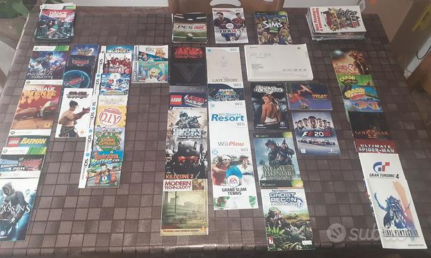 Manuali/Libretti PlayStation, Nintendo, Xbox, ecc