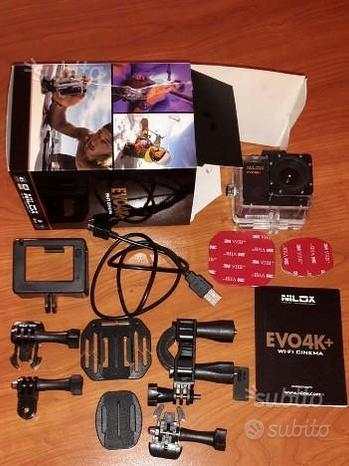 NILOX EVO 4K+ VIDEO HD 4K 16MP usata