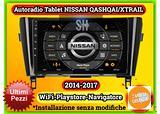 Navigatore touch Nissan Qashqai J11 2013-2017