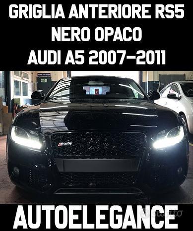 Audi a5 2007-2011 griglia anteriore nero opaco rs5